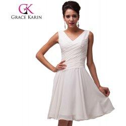 651c7c4a4660 Grace Karin společenské šaty krátké CL6059 ivory alternativy ...