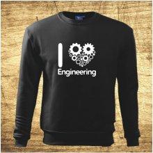I love engineering Černá