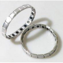 Germaniový náramek stříbrný matný E800-1