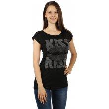 Glara Dámské tričko s kamínky 8fdd74fcaa