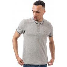 Armani Mens Polo Shirt Grey