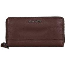 Marc O´Polo dámská kožená zipová peněženka 607 17185301 104 724 hnědá