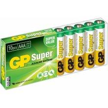 GP Super Alkaline AAA 10ks 1013100102