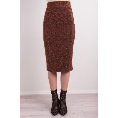 BSL tužková sukně hnědá