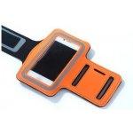Pouzdro Sportiso Sportovní Armband iPhone 5/5S/SE Oranžové