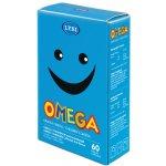 Lysi Omega 3 + D žvýkací kapsle pro děti s ovocnou příchutí