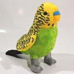 Papoušek Andulka plyšová