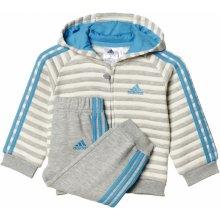 Adidas Winter Fz Hd šedá
