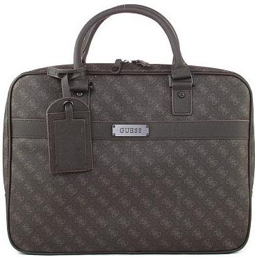 Položit otázku Guess pánská business taška HM1821-POL44-Bro - Heureka.cz a580e297a02