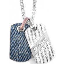 Diesel Pánský náhrdelník z chirurgické oceli DX0916 cee96188684