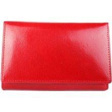 ITALSKÉ Červené dámské peněženky H33 rosso