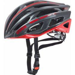 Přilba, helma, kokoska Uvex RACE 5 black matt red 2017