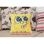 JOY TOY Spongebob plyšový polštář stydlivý 34x33