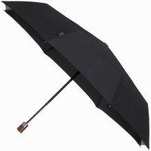 Samsonite automatický pánský deštník Samsonite Wood Classic 3 sect. auto O/C short Vyberte barvu Black 09