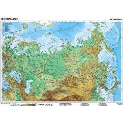 Severni Asie Geograficka Politicka Mapa A3 Od 65 Kc Heureka Cz