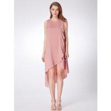 Alisa Pan asymetrické šaty bez rukávů AS04042PK starorůžová a282904bfc