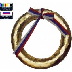 Poháry Vavřínový věnec zlatý s trikolórou 4e68ee6dfa