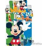 Jerry Fabrics povlečení Mickey Baby fialové/modré 135x100 cm