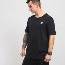 Nike NSW Tee Club Embroidered Futura černé