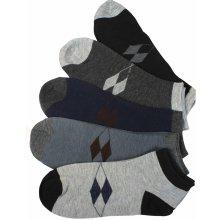 pánské zdravotní kotníkové ponožky - 3páry MIX 085b6f9aa0