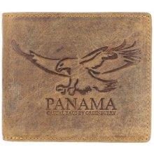 Greenburry Kožená peněženka Panama 2702 E 25 hnědá