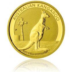 Austrálie Česká mincovna Zlatá investiční mince 1 10 Oz 15 AUD klokan 3,13 g