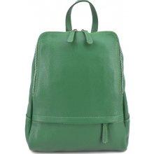 49c41e9eaee Arteddy dámský kožený batoh zelená