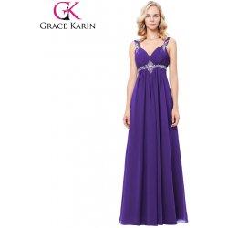 04d22b3bf21 Grace Karin plesové šaty GK000129-2 fialová alternativy - Heureka.cz