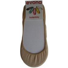 Evona Tělové dámské ponožky do balerín Balerínky-230