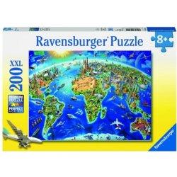 Ravensburger Velka Mapa Sveta 200 Dilku Od 198 Kc Heureka Cz