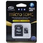 TEAM microSDXC 8GB Class10 TUSDH8GCL1003