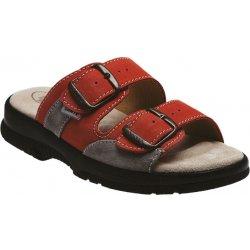 Dámská obuv Santé N 517 33 36 18 CP oranžové panfotle aaa1cb95f1