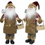 Vánoční figurka - Santa WODAN 45 cm, Euro Trading Euro Trading 4260416048287