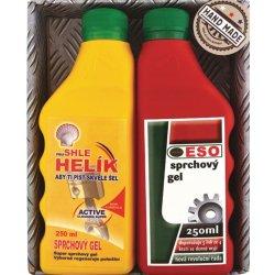Bohemia Helík sprchový gel 250 ml + sprchový gel Eso 250 ml pro opravdové  muže dárková 5da7355ea42