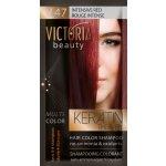 Victoria Beauty Keratin Therapy Tónovací šampón na vlasy V 47, Intensive red, 4-8 umytí