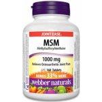 Webber Naturals MSM 1000 mg 160 tbl.