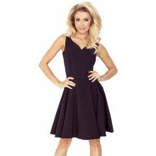 7cd50fbc27e Společenské šaty luxusní s kolovou sukní středně dlouhé černá