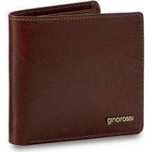 GINO ROSSI Velká pánská peněženka AFV364-01S-PL00-3300-X Hnědá
