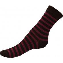 Gapo ponožky Elastik Pruh fialová