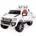 Beneo Elektrické autíčko Ford Ranger Wildtrak Luxury bílá