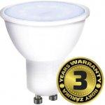 Solight LED žárovka bodová 7W GU10 6000K 500lm bílá