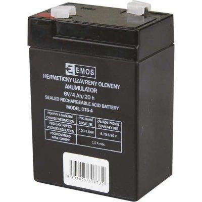 EMOS B9641 6V / 4Ah VRLA 1201000100