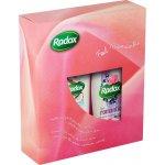 Radox Feel Romantic sprchový gel 250 ml + Feel Heavenly pěna do koupele 500 ml dárková sada