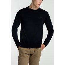 Gant Pánský svetr LT. WEIGHT COTTON CREW modrá S
