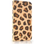 Pouzdro Happy Plugs iPhone 6 Flip Leopard