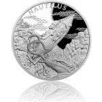 Česká mincovna Stříbrná mince Fantastický svět Julese Verna Ponorka Nautilus proof 31,1 g
