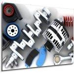 WEBLUX Obraz 1D - 100 x 70 cm - Car parts Autodíly
