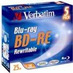 Verbatim BD-RE 25GB 2x jewel case 1ks (43615-1)