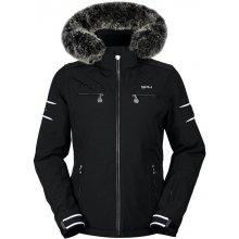 Dámská luxusní lyžařská bunda SPH Meribel s pravou kožešinou model 16/17 černá