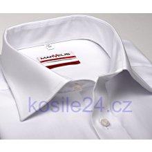 Marvelis Slim Fit Uni bílá košile